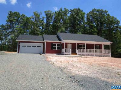 Louisa Single Family Home For Sale: 6814 Courthouse Rd
