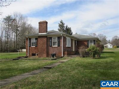 Louisa County Single Family Home For Sale: 6602 A Courthouse Rd