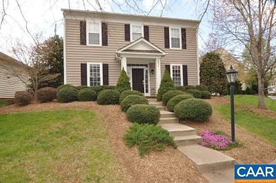 Albemarle County Single Family Home For Sale: 3371 Turnberry Cir