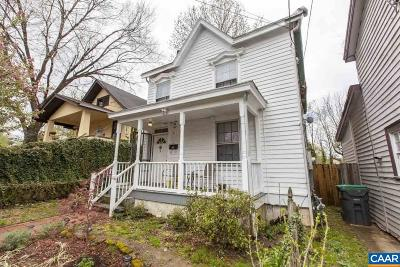 Charlottesville Single Family Home For Sale: 406 Dice St