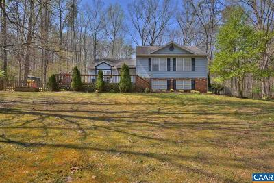 Louisa County Single Family Home For Sale: 123 Ash Rd