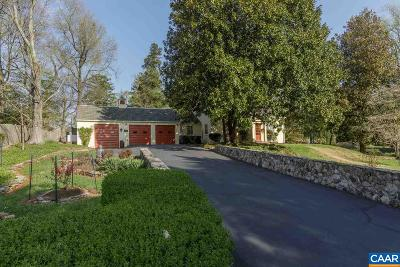 Charlottesville  Single Family Home For Sale: 1713 Meadowbrook Heights Rd