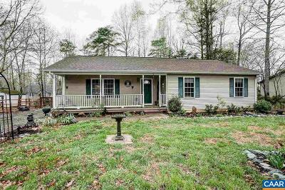 Fluvanna County Single Family Home For Sale: 28 Kiowa Ln