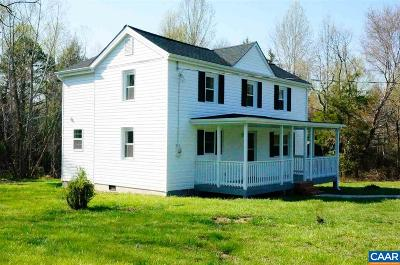 Albemarle County Single Family Home For Sale: 8090 Porters Rd