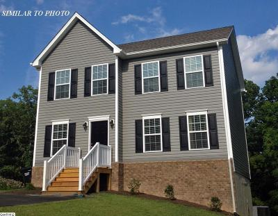 Staunton VA Single Family Home For Sale: $219,950