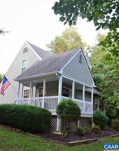 Fluvanna County Single Family Home For Sale: 39 Chippewa Ln