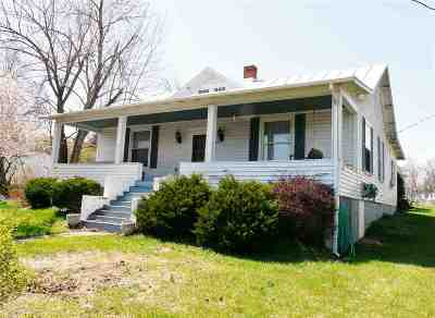New Market Single Family Home For Sale: 9245 North Congress St