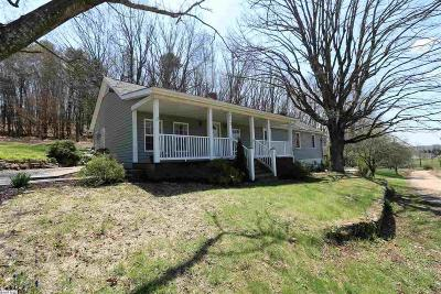 Staunton VA Single Family Home For Sale: $209,900