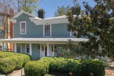 Staunton Single Family Home For Sale: 336 Vine St