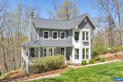 Charlottesville Single Family Home For Sale: 1454 Overlook Dr