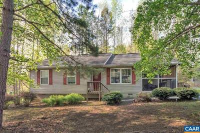 Fluvanna County Single Family Home For Sale: 46 Stonewall Dr