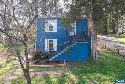 Charlottesville Single Family Home For Sale: 501 Valley Road Ext