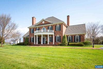 Albemarle County Single Family Home For Sale: 515 Rocks Farm Dr