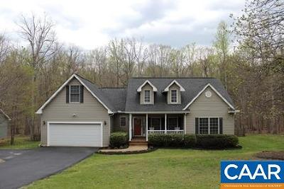 Fluvanna County Single Family Home For Sale: 79 Riverside Dr