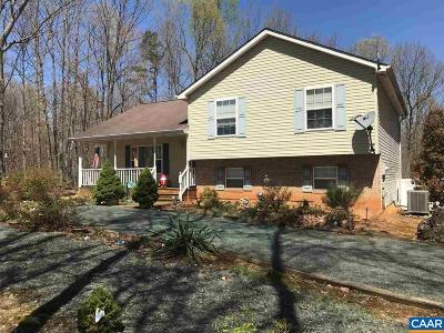 Fluvanna County Single Family Home For Sale: 1373 Long Acre Rd
