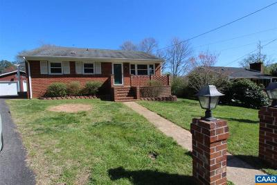 Charlottesville County Single Family Home For Sale: 605 Elizabeth Dr