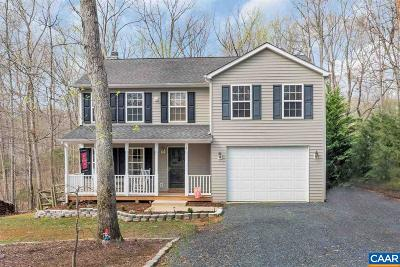 Fluvanna County Single Family Home For Sale: 9 Albano Ct
