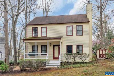 Albemarle County Single Family Home For Sale: 1635 Inglewood Dr