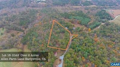 Albemarle County Lots & Land For Sale: 2 Allen Farm Ln