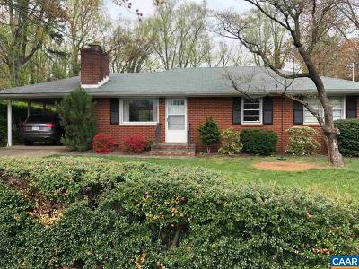 Charlottesville Single Family Home For Sale: 108 Linda Ct