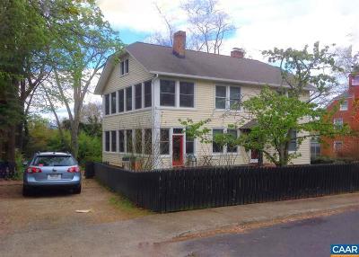 Charlottesville Multi Family Home For Sale: 304 Montebello Cir