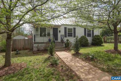 Charlottesville Single Family Home For Sale: 1104 Sycamore St