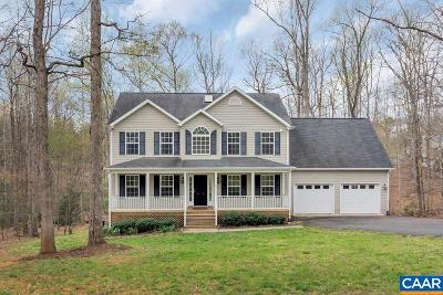 Fluvanna County Single Family Home For Sale: 13 Albano Ct