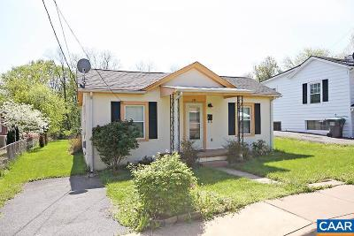 Charlottesville Single Family Home For Sale: 234 Hartmans Mill Rd