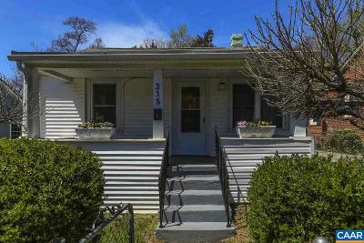 Charlottesville Single Family Home For Sale: 315 NW 10th St