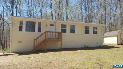 Albemarle County Single Family Home For Sale: 3528 Presidents Rd