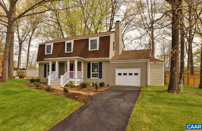 Albemarle County Single Family Home For Sale: 508 Berwick Ct