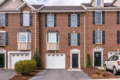 Harrisonburg Townhome For Sale: 1925 Buttonwood Ct