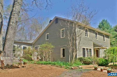 Keswick Single Family Home For Sale: 3908 Stony Point Rd
