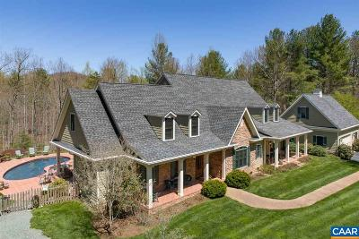 Earlysville Single Family Home For Sale: 2270 Davis Shop Rd