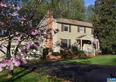 Charlottesville Single Family Home For Sale: 2735 Leeds Ln