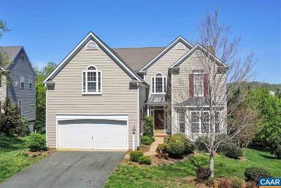 Charlottesville Single Family Home For Sale: 614 Nettle Ct