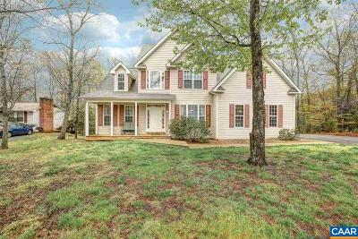 Fluvanna County Single Family Home For Sale: 13 Smokewood Dr