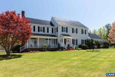 Charlottesville Single Family Home For Sale: 3275 Trellis Ln
