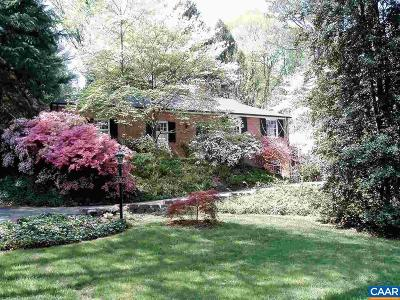 Charlottesville Single Family Home For Sale: 2014 Meadowbrook Rd