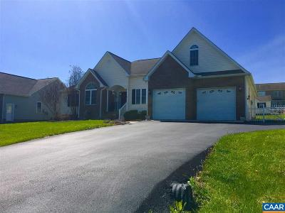 Augusta County Single Family Home For Sale: 38 Bowmans Run Dr