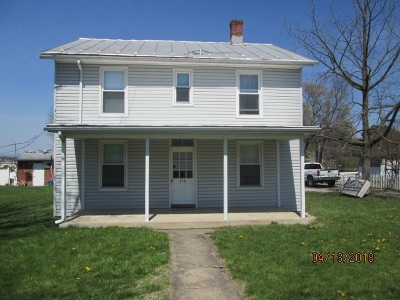 New Market Single Family Home For Sale: 448 West Old Cross Rd