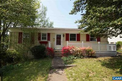 Charlottesville Single Family Home For Sale: 706 Elizabeth Ave