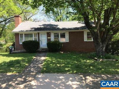 Charlottesville Single Family Home Active W/Kickout: 306 Camellia Dr