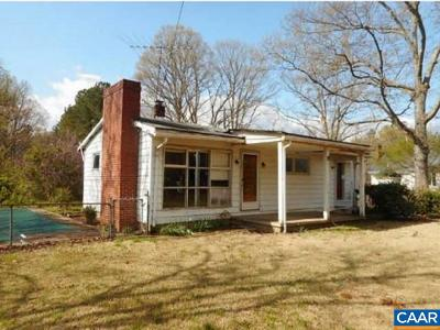 Scottsville Single Family Home For Sale: 120 Antioch Rd