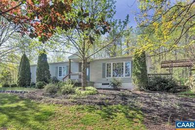Crozet Single Family Home For Sale: 1398 Blair Park Rd