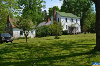 Buckingham County Single Family Home For Sale: 1400 Forest Clay Rd