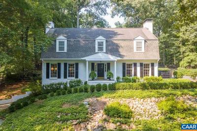 Albemarle County Single Family Home For Sale: 788 Tanglewood Rd