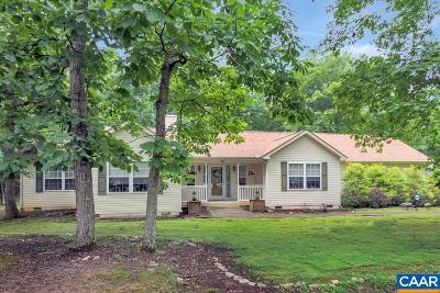 Fluvanna County Single Family Home For Sale: 28 Oak Grove Rd