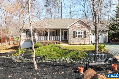 Fluvanna County Single Family Home For Sale: 44 Seminole Trl
