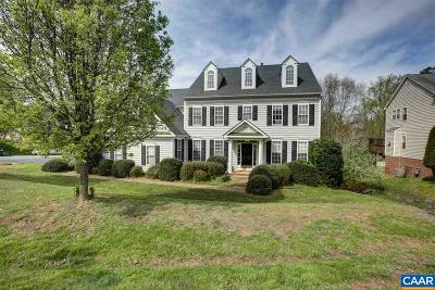 Charlottesville Single Family Home For Sale: 2212 Ambrose Way
